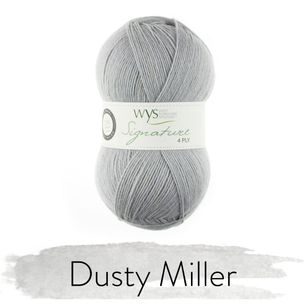WYS SIGNATURE 4ply - Dusty Miller 129 - Beautiful Knitters