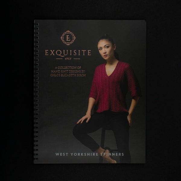 WYS EXQUISITE 4ply BOOK