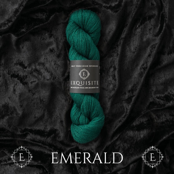 WYS EXQUISITE - Emerald - Beautiful Knitters