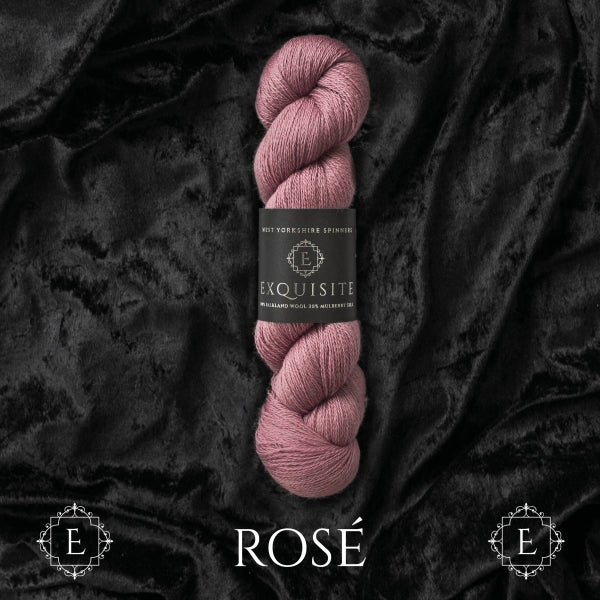 WYS EXQUISITE - Rose - Beautiful Knitters