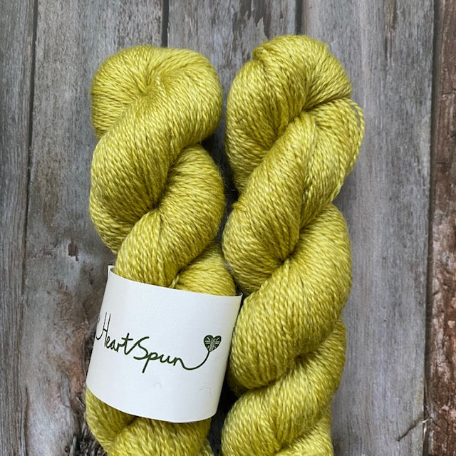 Woolly Chic HEART SPUN - Fern Green - Beautiful Knitters