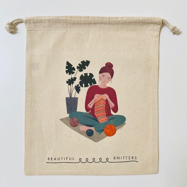 Beautiful Knitters ZEN KNITTER PROJECT BAG - [variant_title] - Beautiful Knitters