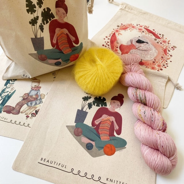 Beautiful Knitters SHEEP TOTE BAG