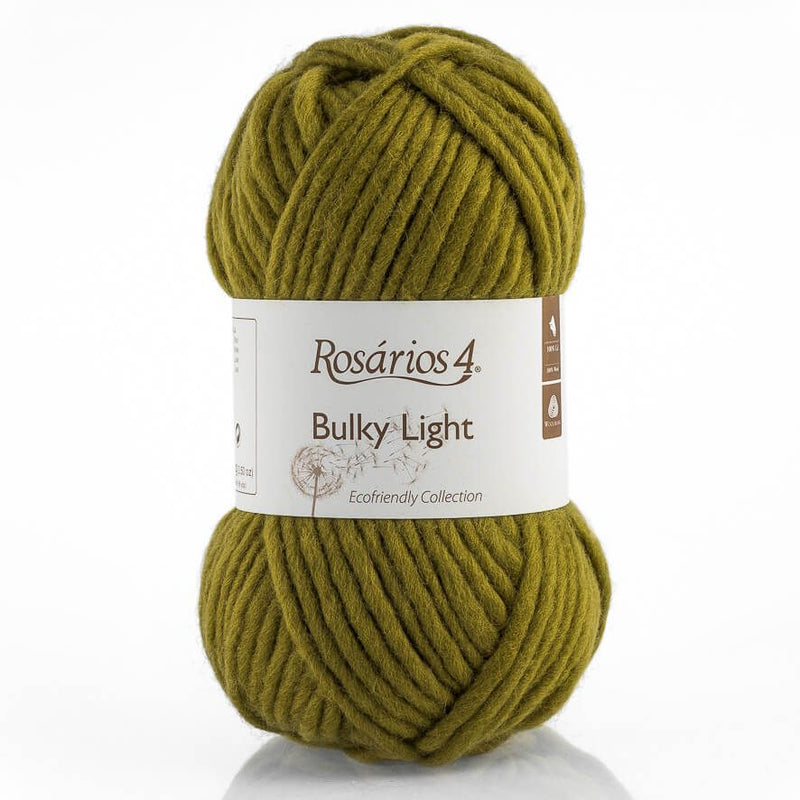 Rosarios4 BULKY LIGHT - 115 Olive - Beautiful Knitters