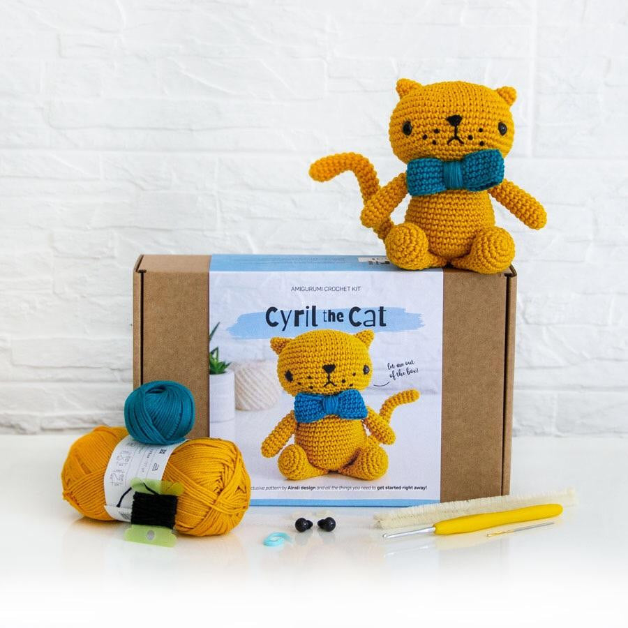 Airali Design CYRIL THE CAT - [variant_title] - Beautiful Knitters