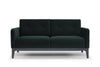 Century two seater sofa - dark green velvet - Calvers + Suvdal