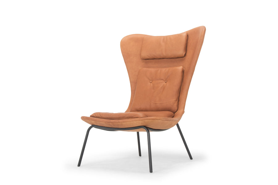 Hermes Chair - bronze leather