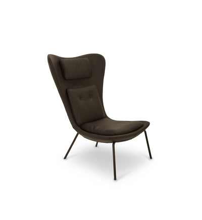 Hermes Chair - black leather