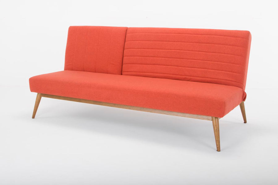 Large Snooze sofa bed - orange