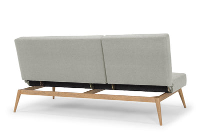 Snooze -  three seater sofa bed - light grey