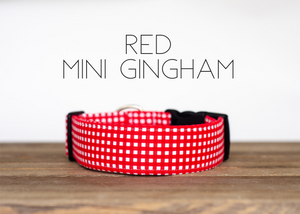 Red Mini Gingham