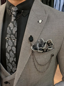 Heritage Slim Fit Grey Suits