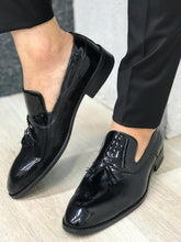 Ferrar Shine Black Loafer