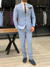Load image into Gallery viewer, Heritage Slim Fit Ice Blue Suits