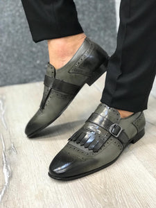 Cesar Modern Grey Loafers