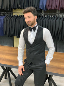 Nate Light Silvery Collared Tuxedo
