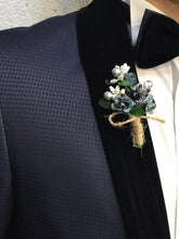 Load image into Gallery viewer, Noah Navy Vested Tuxedo (Wedding Edition)