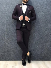 Laden Sie das Bild in den Galerie-Viewer, Noah Damson Vested Tuxedo  (Wedding Edition)