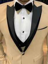 Load image into Gallery viewer, Harrison Cream Color Shawl Collared Tuxedo