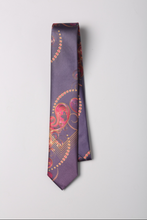 Load image into Gallery viewer, Paisley Silk Tie