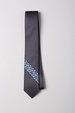 Load image into Gallery viewer, Check Tweed Silk Tie