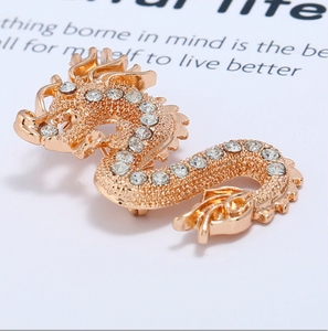 Dragon Collar Chain Brooch