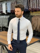 Load image into Gallery viewer, Lance White Classic Fit Shirt