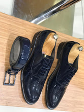 Noah Navy Tux Shoes