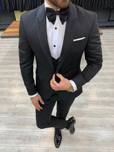 Load image into Gallery viewer, Nate Light Silvery Collared Tuxedo