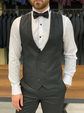 Load image into Gallery viewer, Nate Silvery Shawl Collared Tuxedo