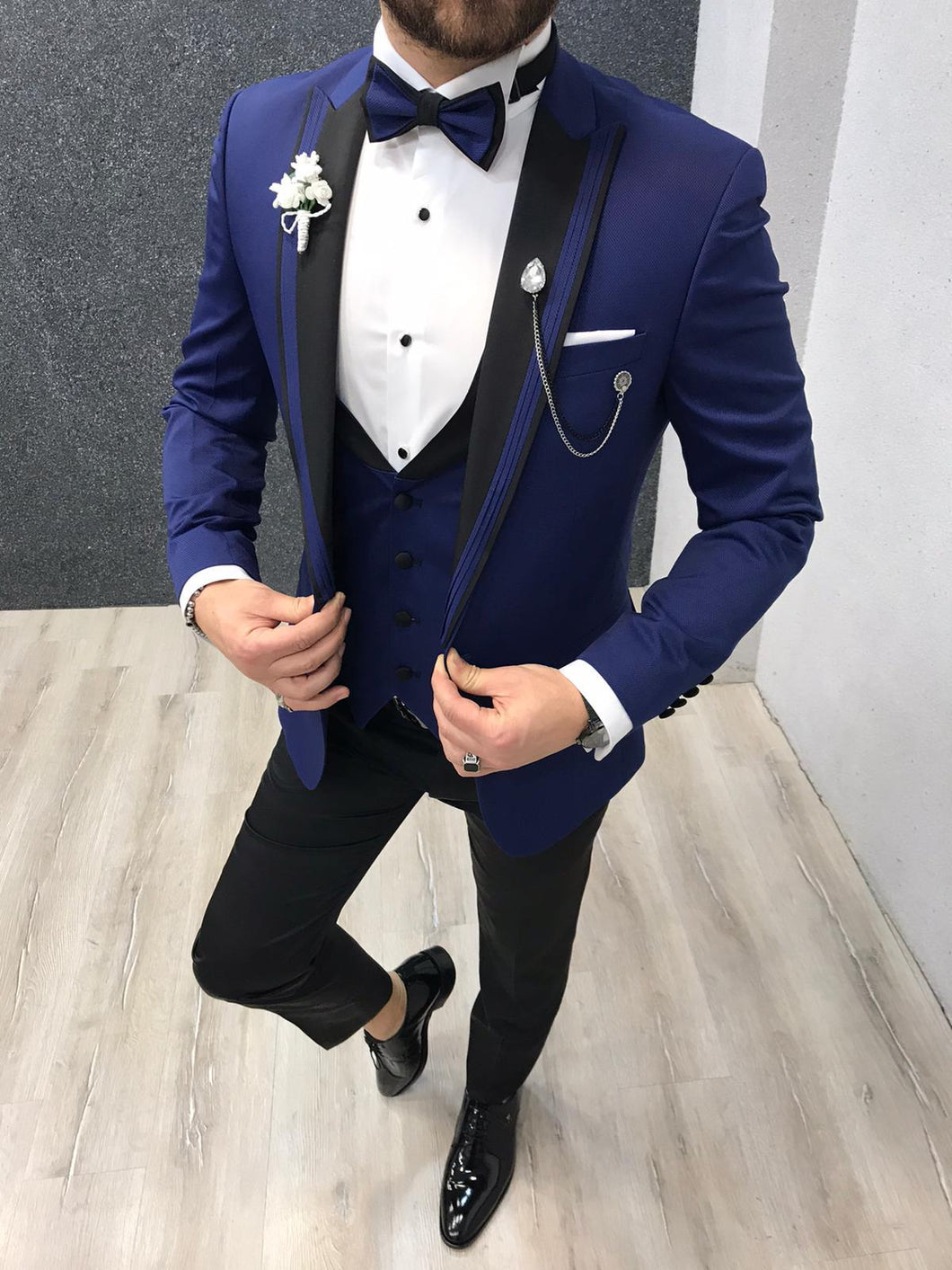 Noah Sax Vested Tuxedo (Wedding Edition)