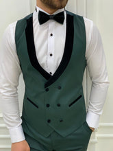 Charger l'image dans la galerie, Vince Slim Fit Green Tuxedo