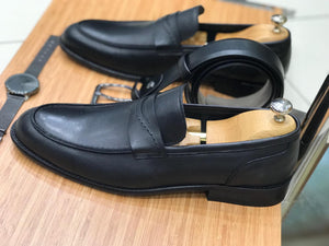 Edmond Black Comfy Shoes