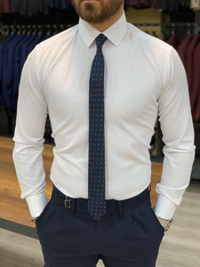 Lance White Classic Fit Shirt