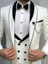 Ferrar Groom Collection White Suit