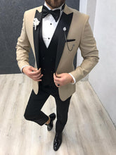 Load image into Gallery viewer, Noah Kirlangic Cream Vested Tuxedo (Wedding Edition)