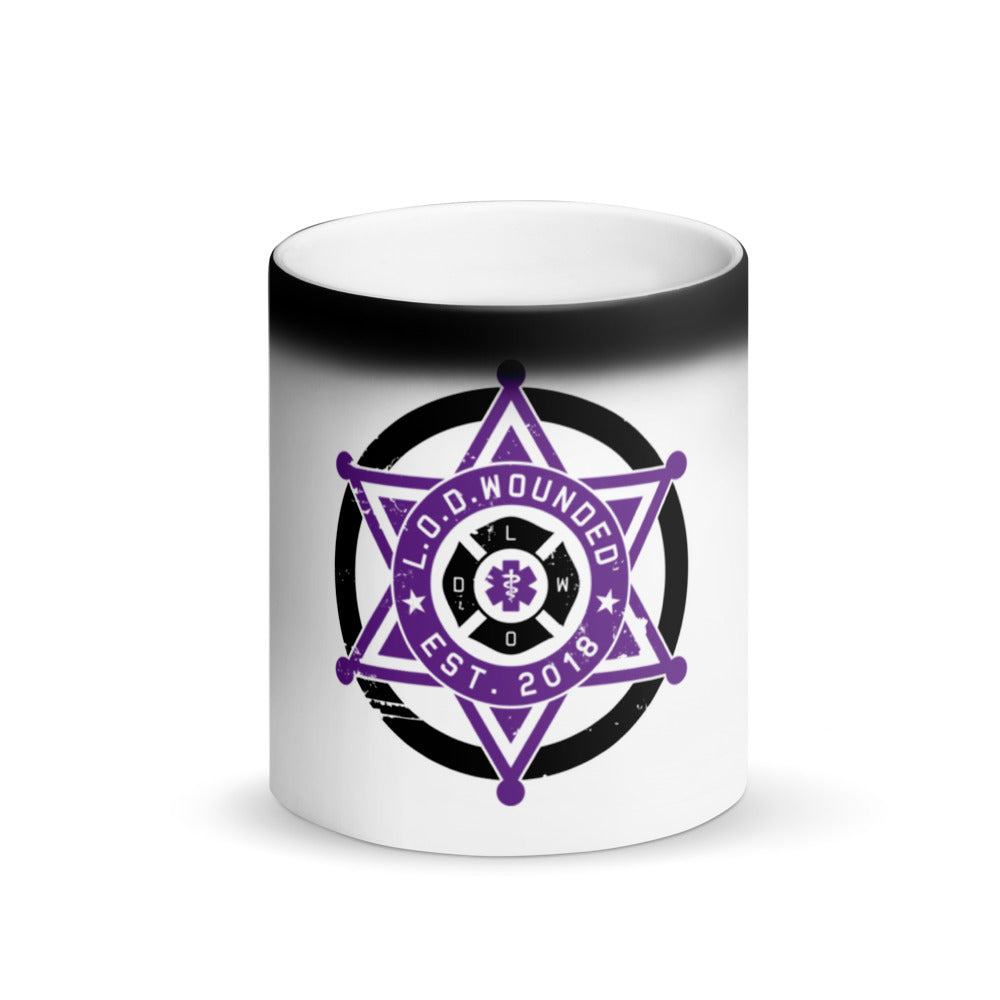 Line of Duty Wounded Color Changing Mug