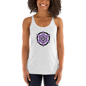 Line of Duty Wounded Women's Racerback Tank