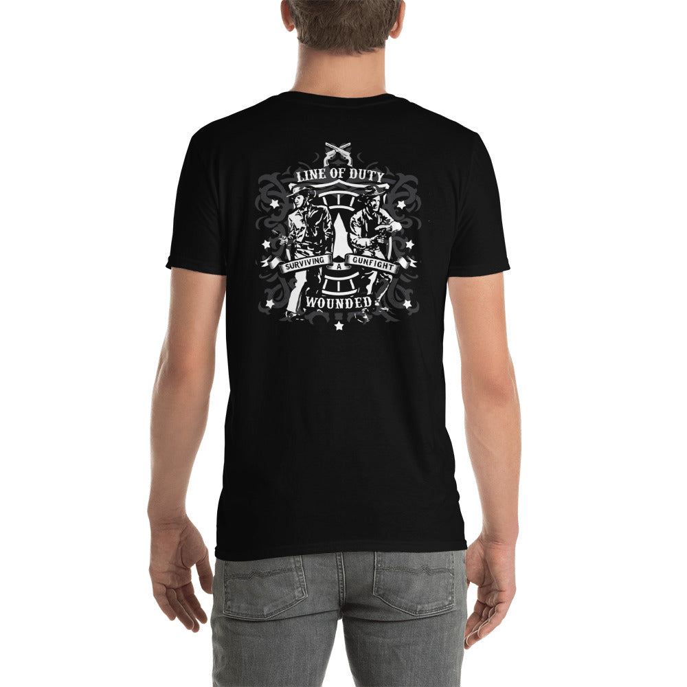 """Six Shooters"" Short-Sleeve Unisex T-Shirt"