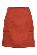 Load image into Gallery viewer, Terracotta Mini Skirt