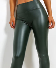 Load image into Gallery viewer, Leather Look Matt Leggings