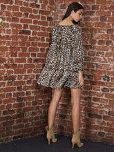 Load image into Gallery viewer, Leopard Smock Mini
