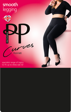 Load image into Gallery viewer, Curve Plus Size Black Leggings