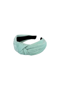 Mint Velour Headband