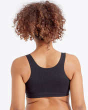 Load image into Gallery viewer, Eco-wear Black Comfort Bra