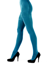 Load image into Gallery viewer, 60 Denier Aqua Opaque Tights