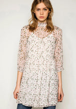 Load image into Gallery viewer, High Neck Floral Dress