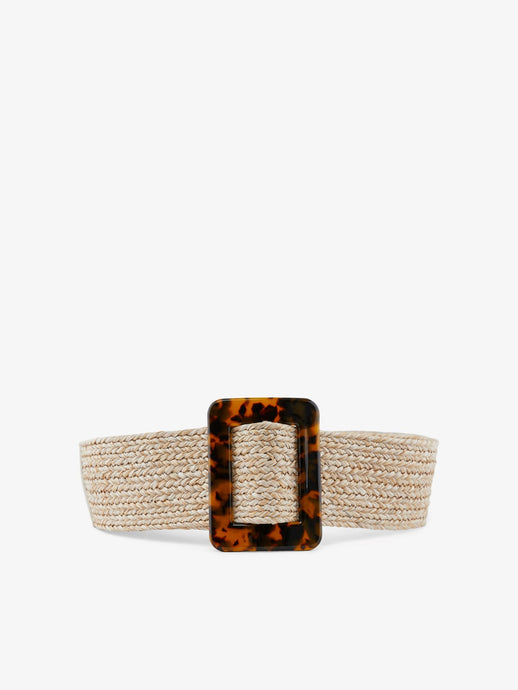 Straw Buckle Waist Belt