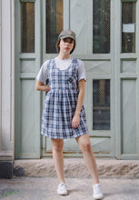 Load image into Gallery viewer, Checked Smock Dress
