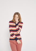 Load image into Gallery viewer, Lurex Striped Sweater
